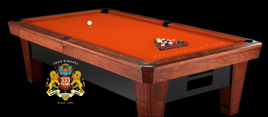 Simonis cloth simonis colors and styles - Pool table green felt ...